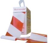 Afzetlint rood/wit  EIKEN-PROCESSIERUPS 75 mm x 100 mtr