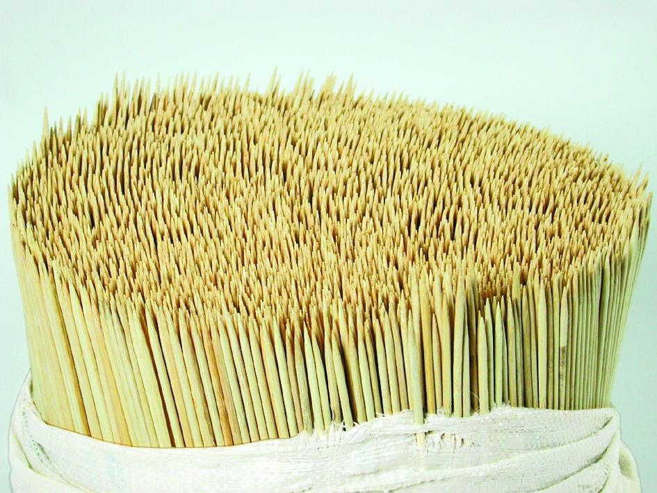 Splitbamboe 25 cm 3.0 mm naturel (baal= 10.000 stuks)
