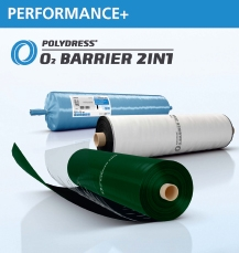 O2 Barrier 2in1 folie 400 x  8 m