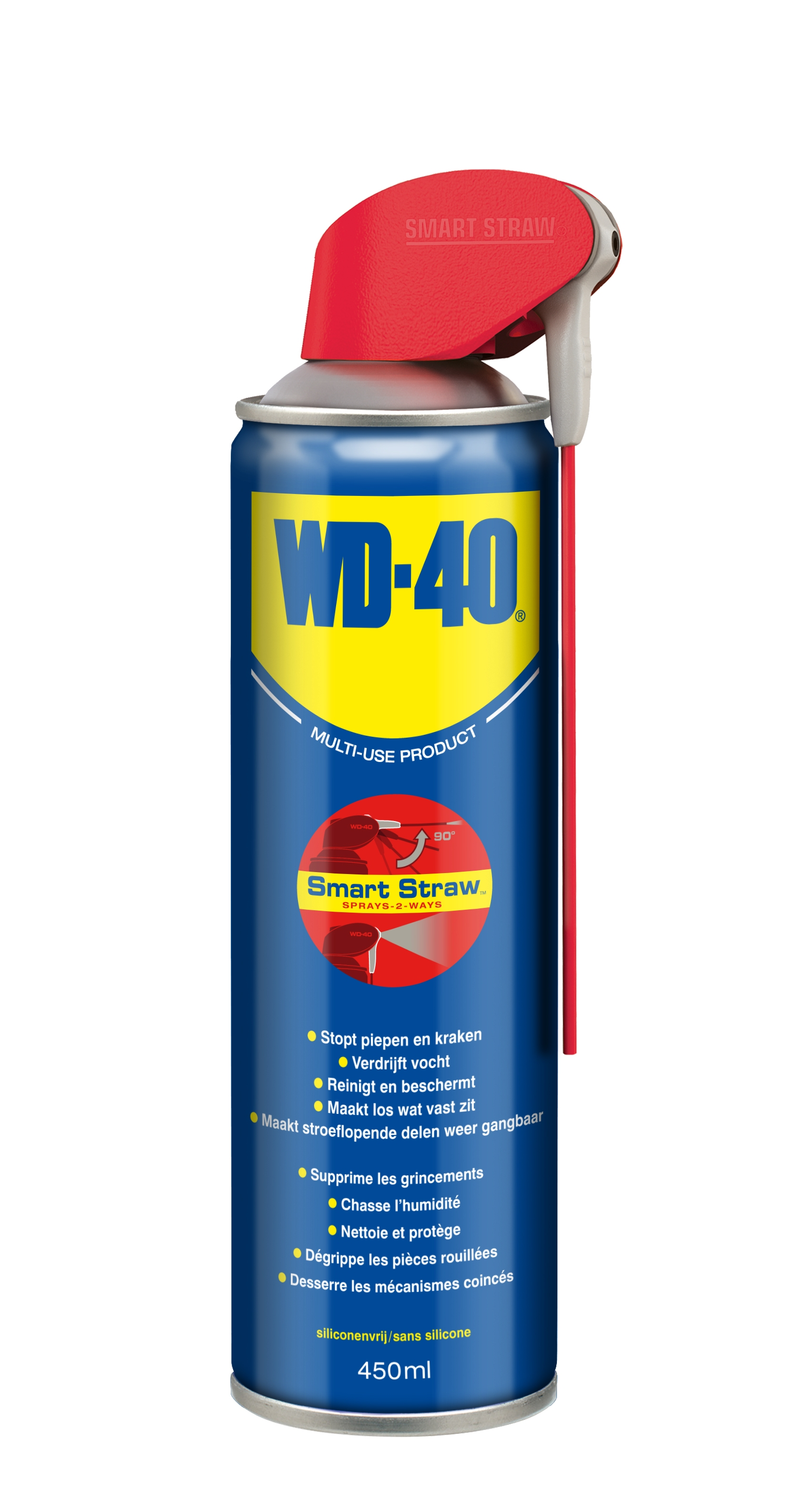 WD-40 Multi Use flexibele slang spray (bus= 400 ml)