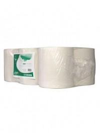 Handdoekpapier Euro Midi 1-lgs wit 20cm 300 mt/rl (118330)