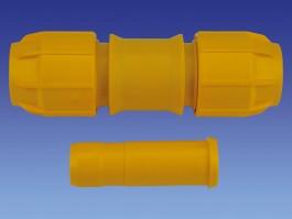 Tyleenverloop gas 40 - 28 koper