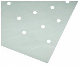 Folie blank geponsd 100 x 12.00 mtr 50 µ