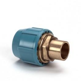 Unifit PE soldeerkoppeling x uitw.cap. 16 x 15 mm