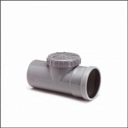 Wafix Ontstoppingsstuk SN4 Ø125 mm (schroefdeksel) manch m/s