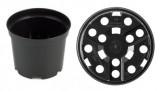 Pot IPP SBX 1,0 ltr zwart (pallet= 9800 stuks)
