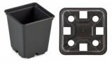 Pot IPP 7 x 7 x 8 EX zwart (pallet=30.940 stuks)