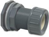 """HD Doorvoerkoppeling 63 mm x 2½ \"""" klemv. x bui.dr."""