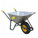 Kruiwagen  met gegalv.bak 100 liter