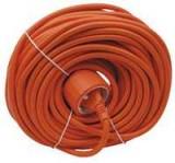 Verlengkabel 20 meter ongeaard oranje