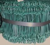 Drilbinders groen 12 cm 1.4 mm (bundel= 1000 stuks)