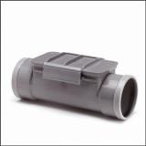 Wafix Ontstoppingsstuk SN4 Ø125 mm (klemdeksel )grijs 2xm