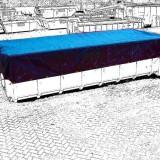 Container Tarp 600 PVC 3.50 x 8.00 mtr groen 610gr/m²