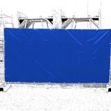 Hekwerkdekkleed lichtgewicht 1,76 x 3,41 meter blauw