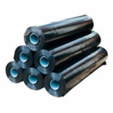 Folie zwart 50 x 6.00 mtr 100 µ